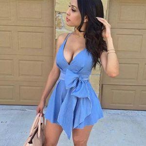 Style Street Boutique Dresses - Denim Sundress